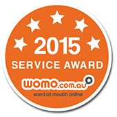 Word of Mputh Online Service Award